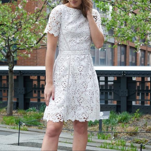 Reiss Dresses & Skirts - Reiss White Lace Dress